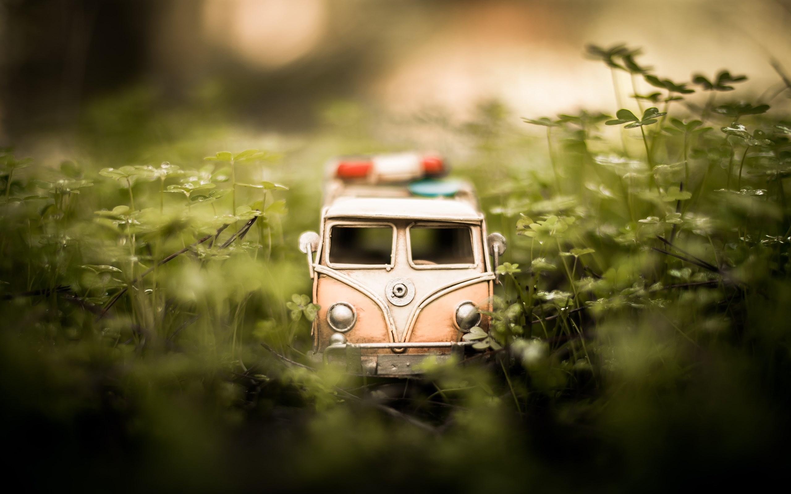 Volkswagen Bus Car Toy