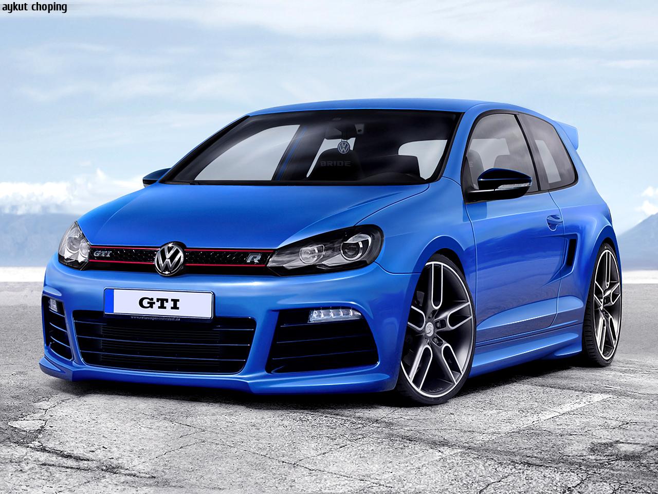 Volkswagen Golf GTI Blue