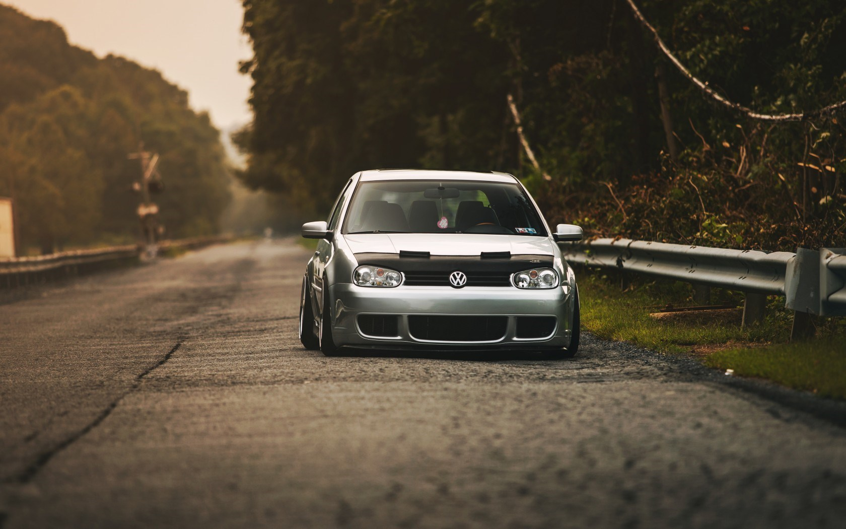 Volkswagen Golf MK4 Tuning Car Road