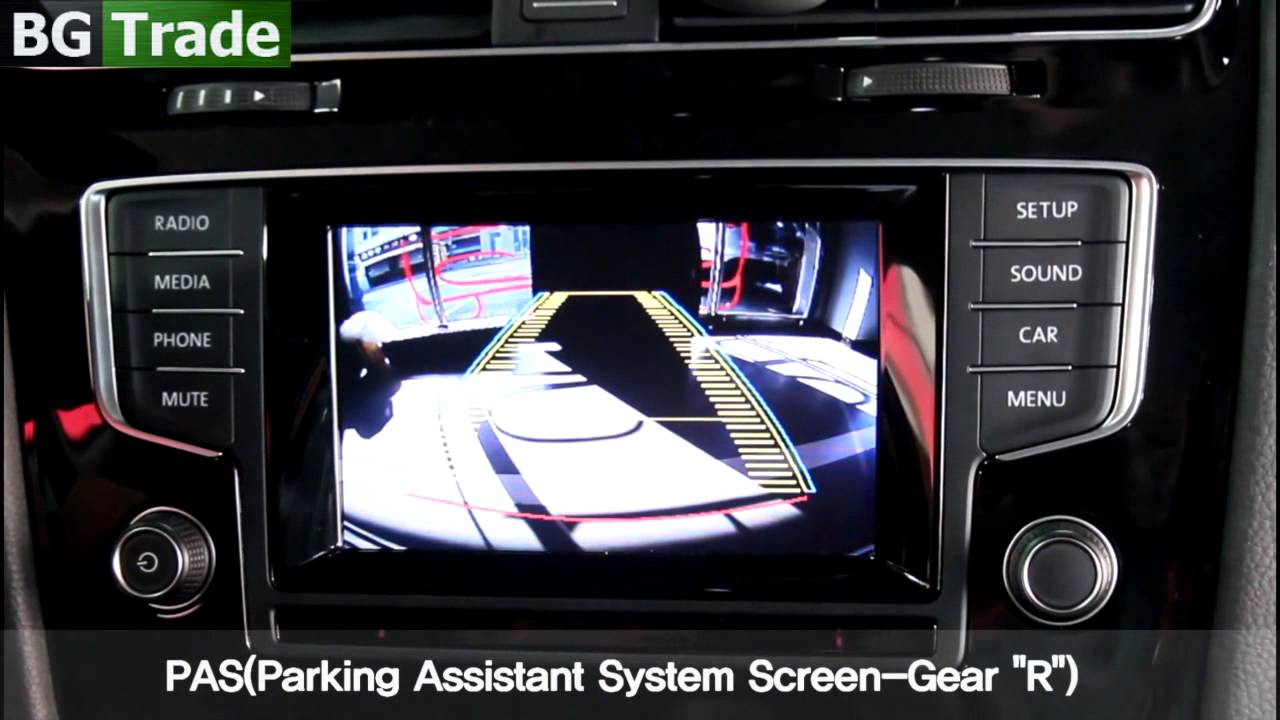 Interface for VW Golf 7 with IPAS(Intelligent Parking Assist System)