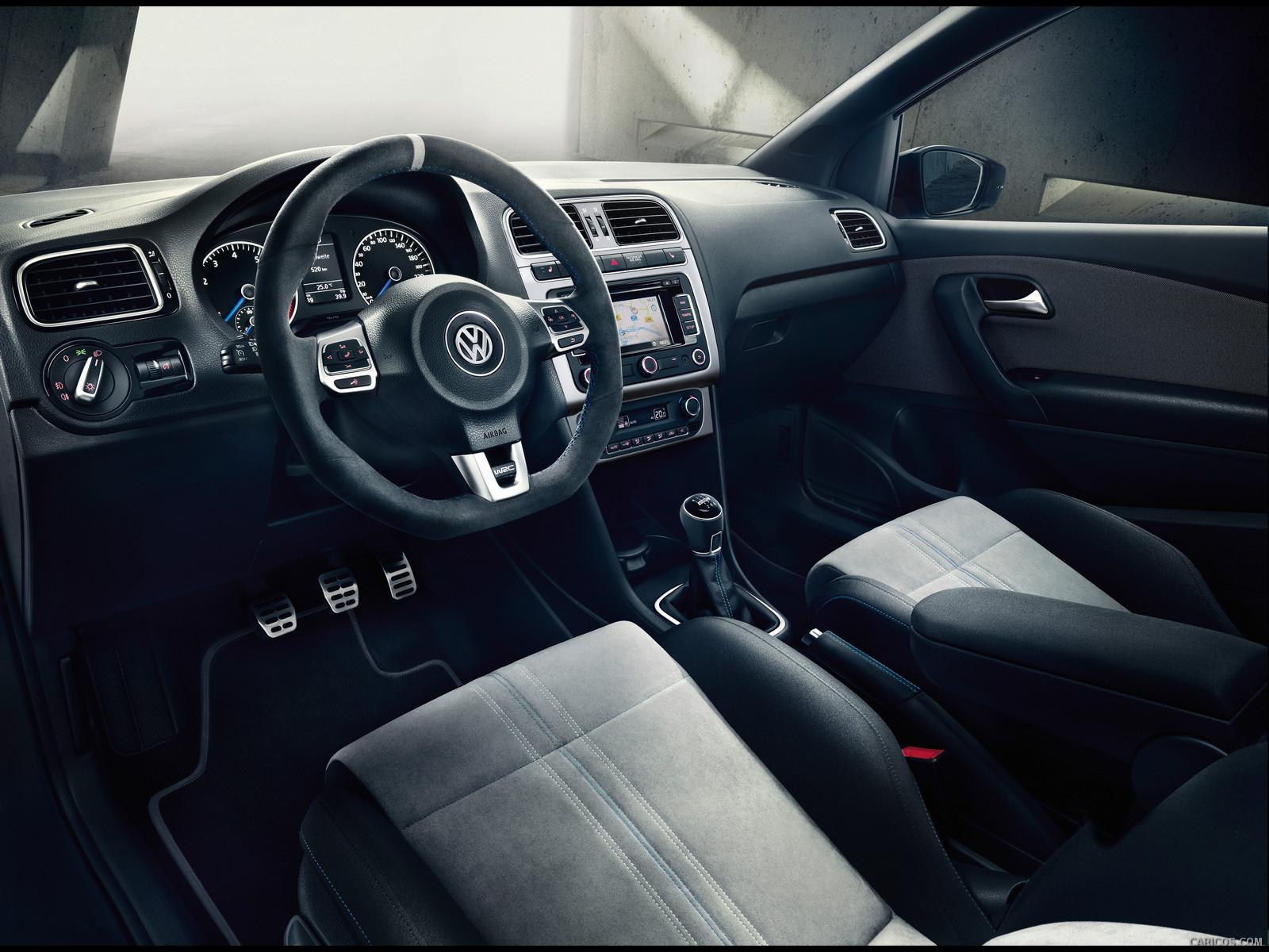 2013 Volkswagen Polo R WRC - Interior Wallpaper