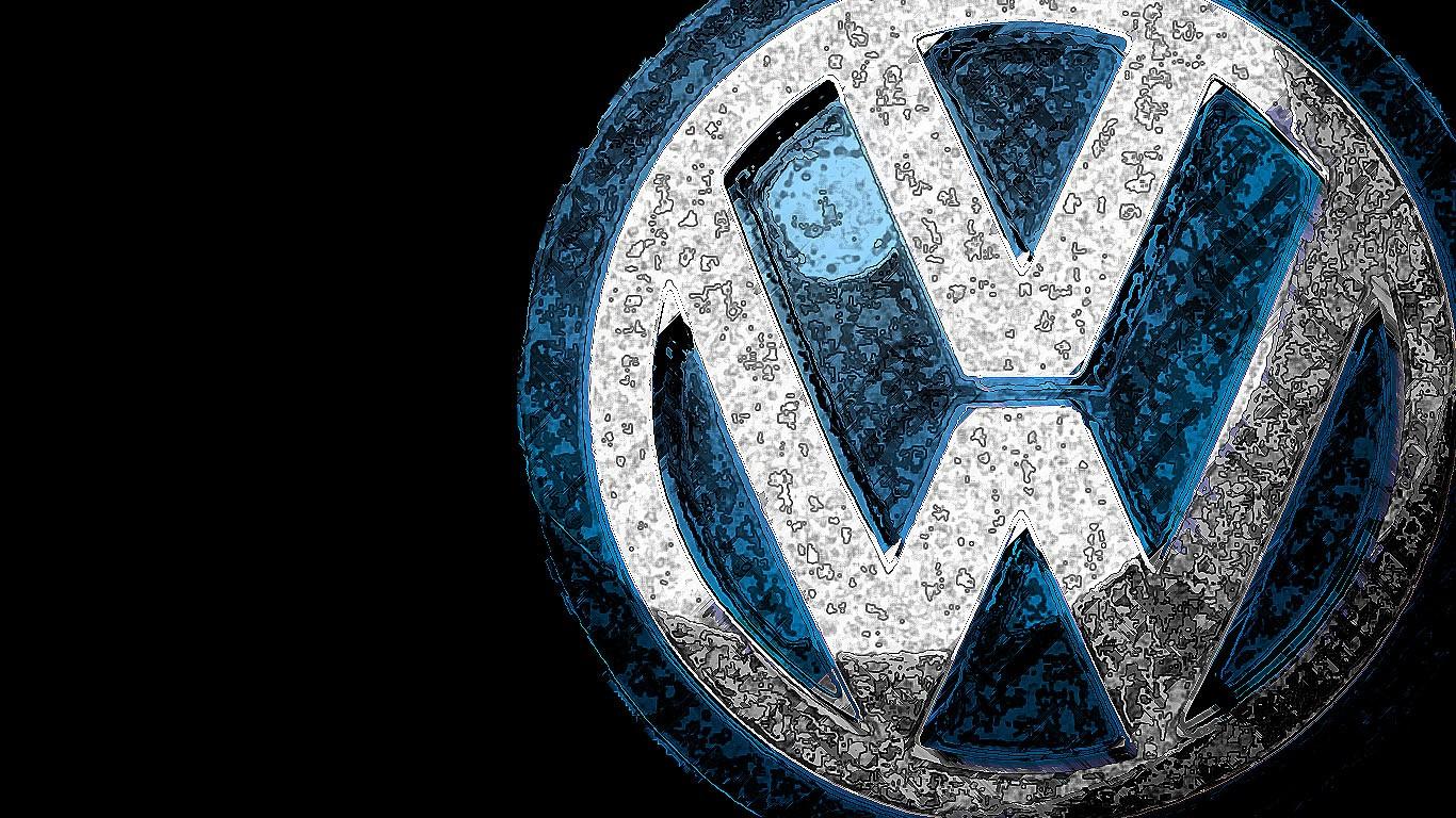 ... Volkswagen Logo Wallpaper ...