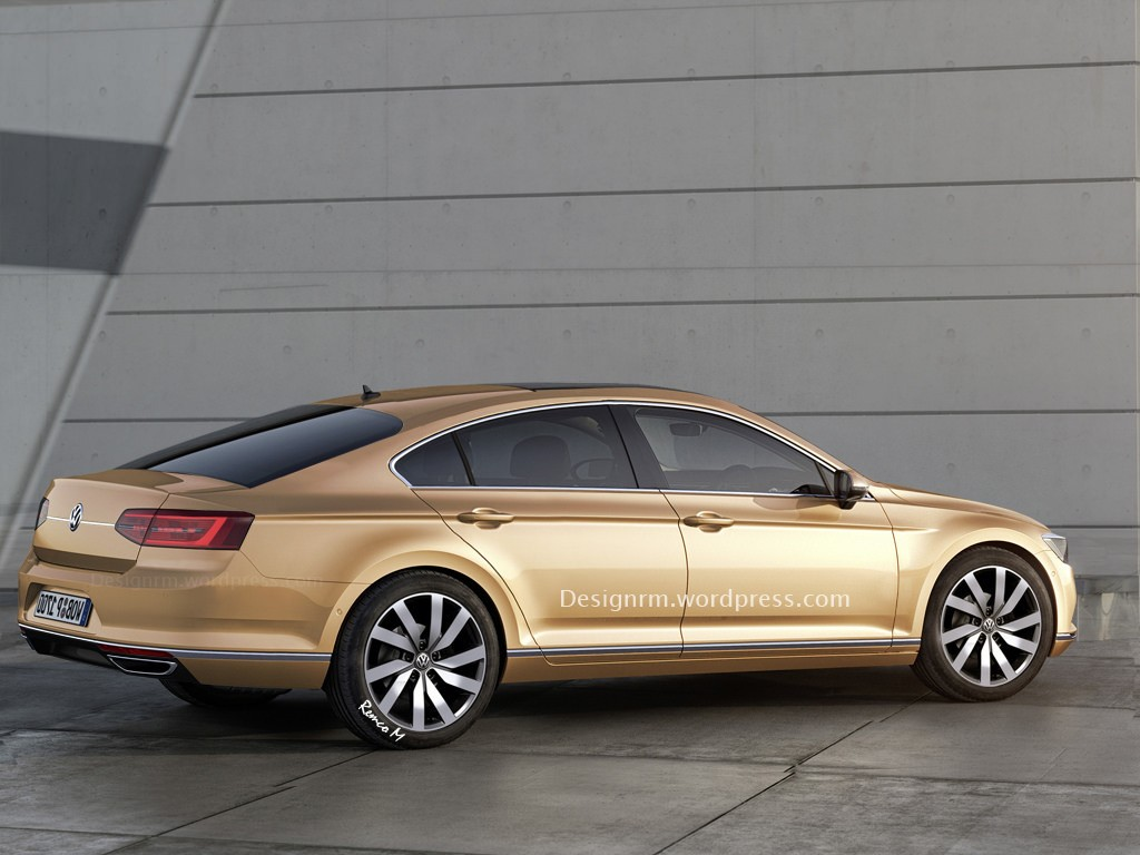 Volkswagen Passat CC Car