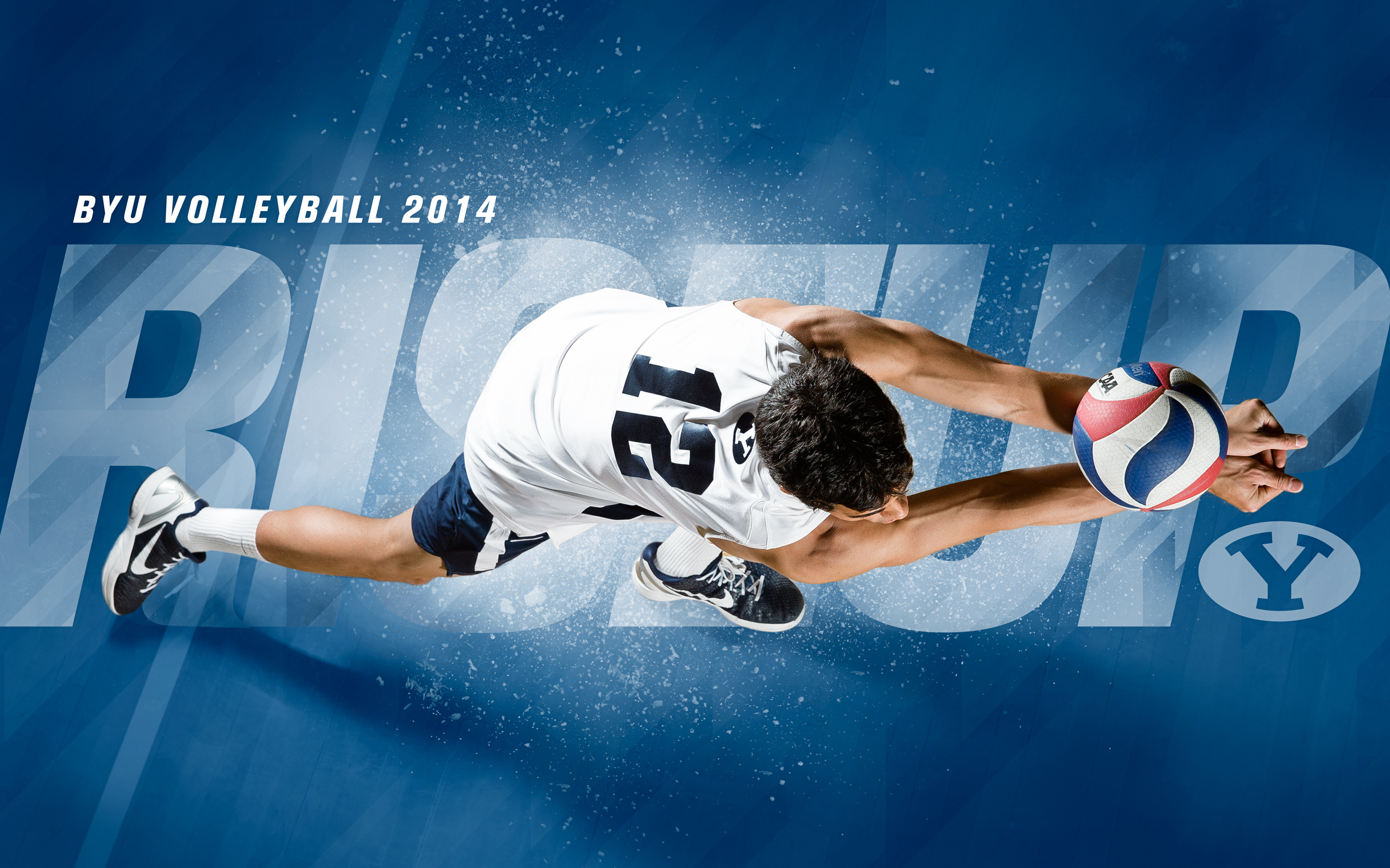 2014 - Jaylen Reyes - BYU Volleyball Wallpaper 2014
