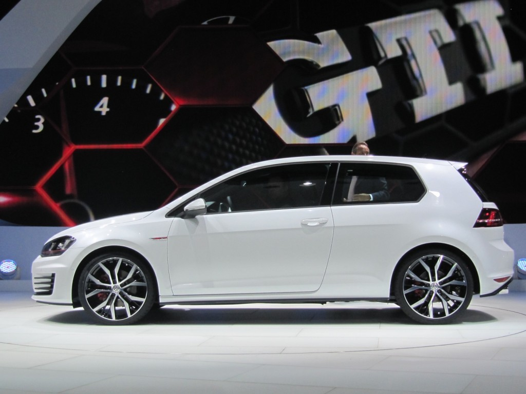 ... Volkswagen GTI 'concept' launch at Paris Motor Show, September 2012 ...