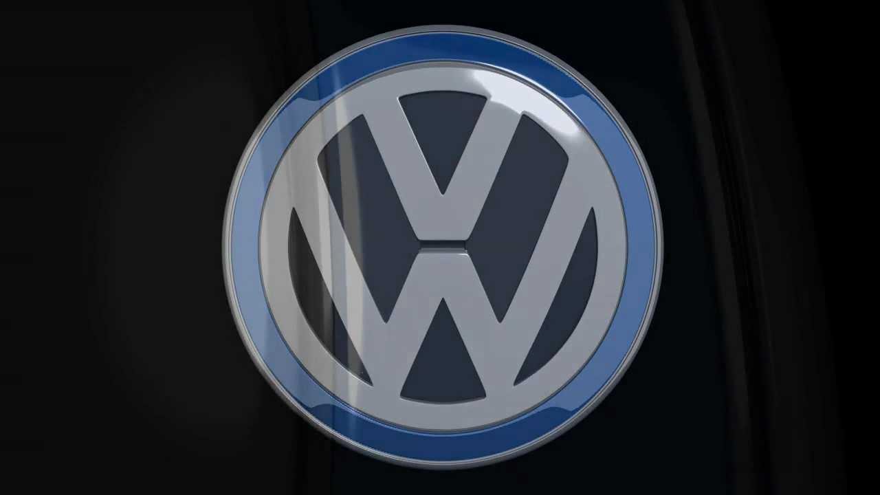 VW Volkswagen 3D Logo - demo animation