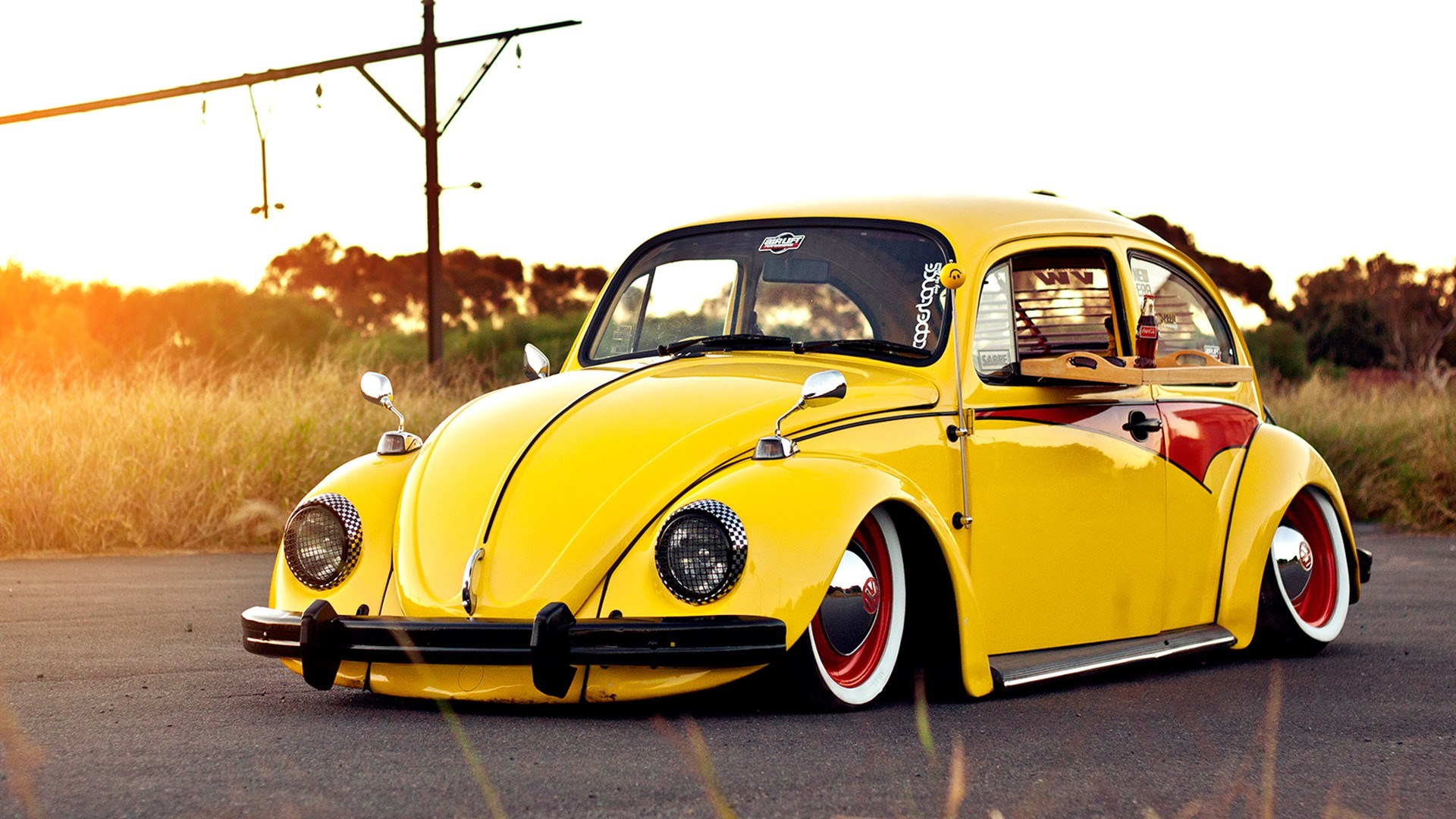 Volkswagen Beetle Bug Yellow