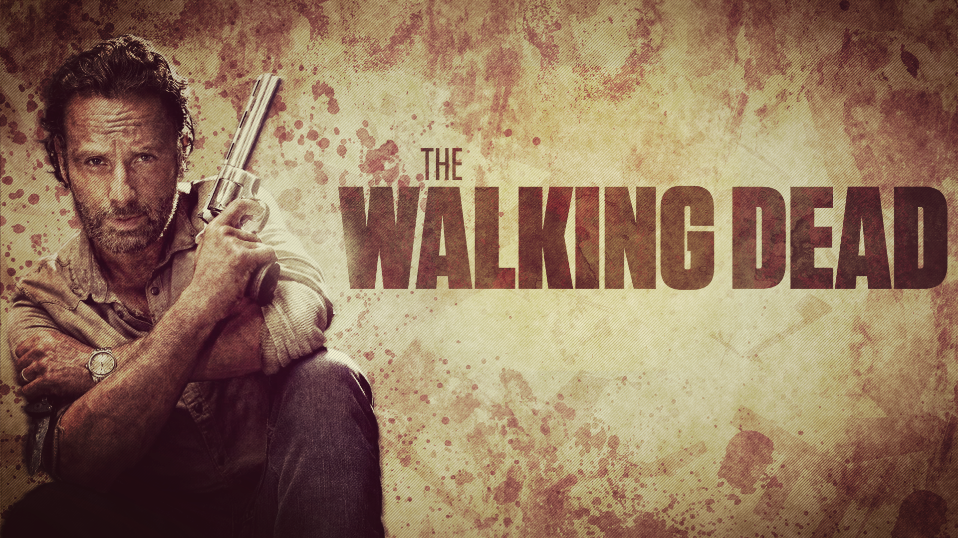 The Walking Dead - Rick Grimes by Mennisian