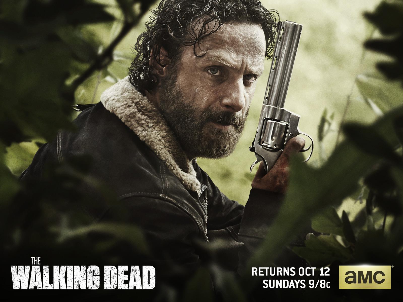 Walking Dead Rick Wallpaper 1600x1200 56810