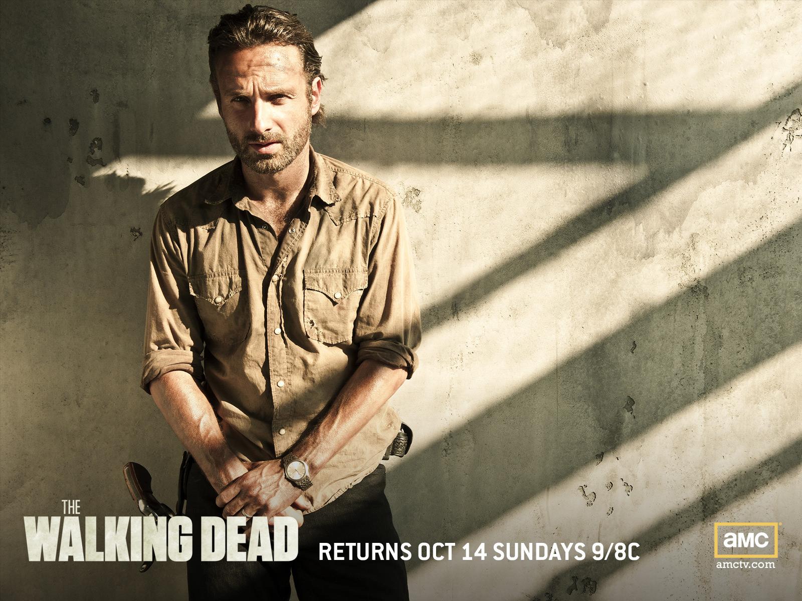 Walking Dead Rick Wallpaper 1600x1200 56807