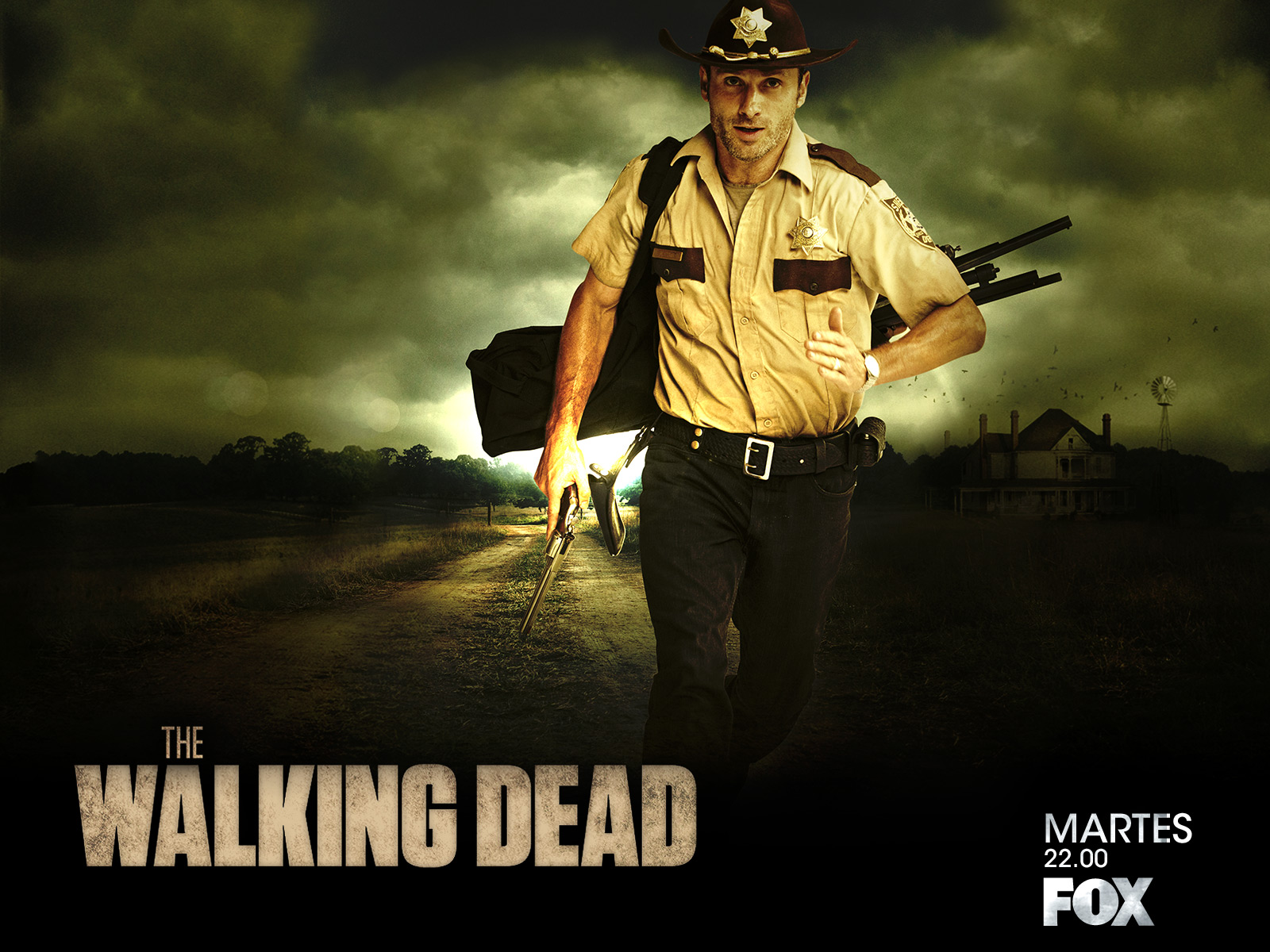 Rick Grimes - the-walking-dead Wallpaper