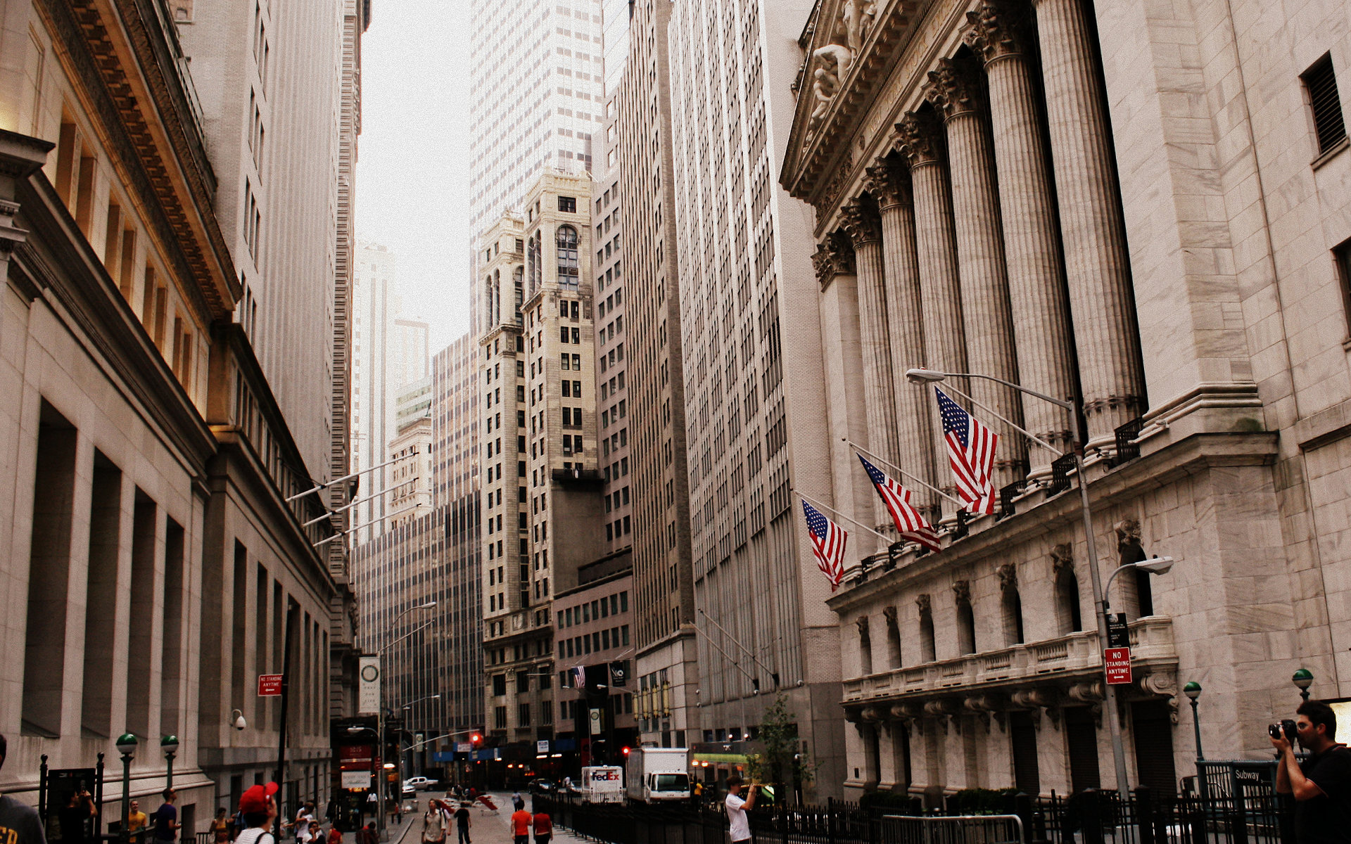 Download: Wall Street HD Wallpaper