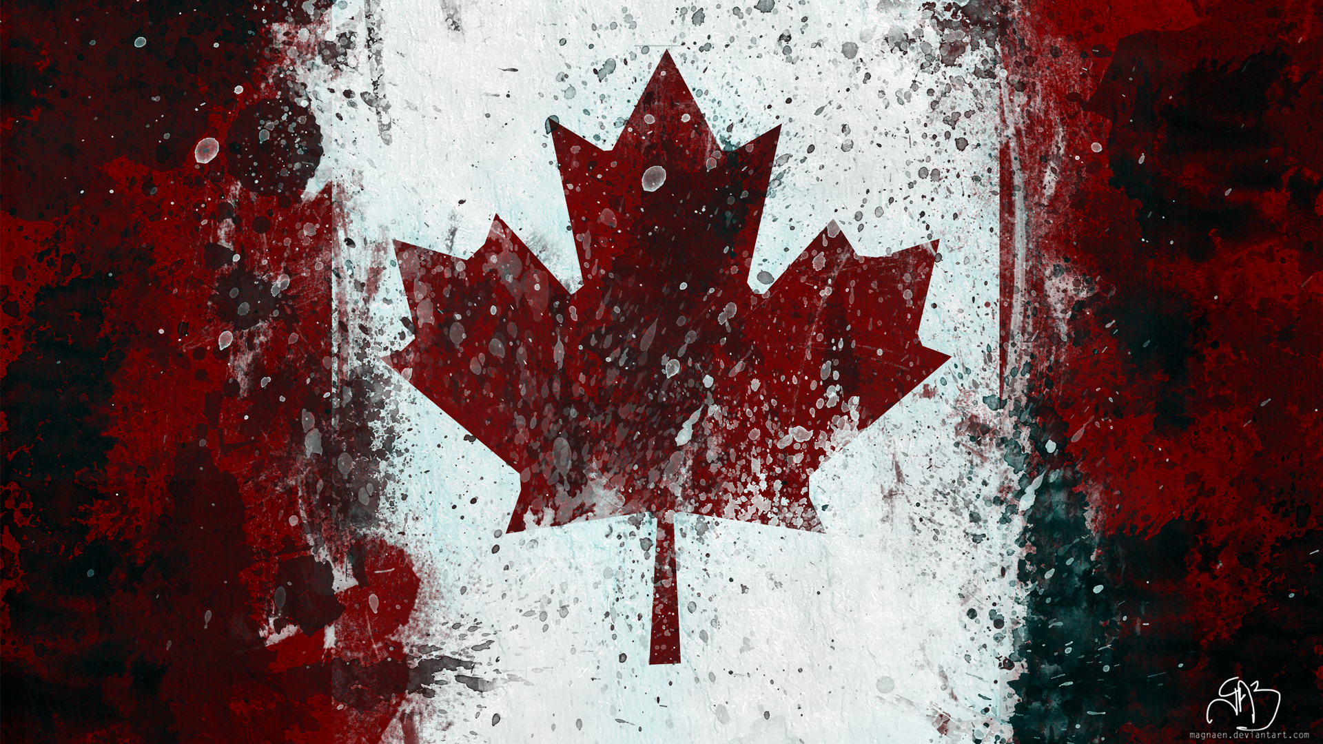 Canada Flag Wallpaper