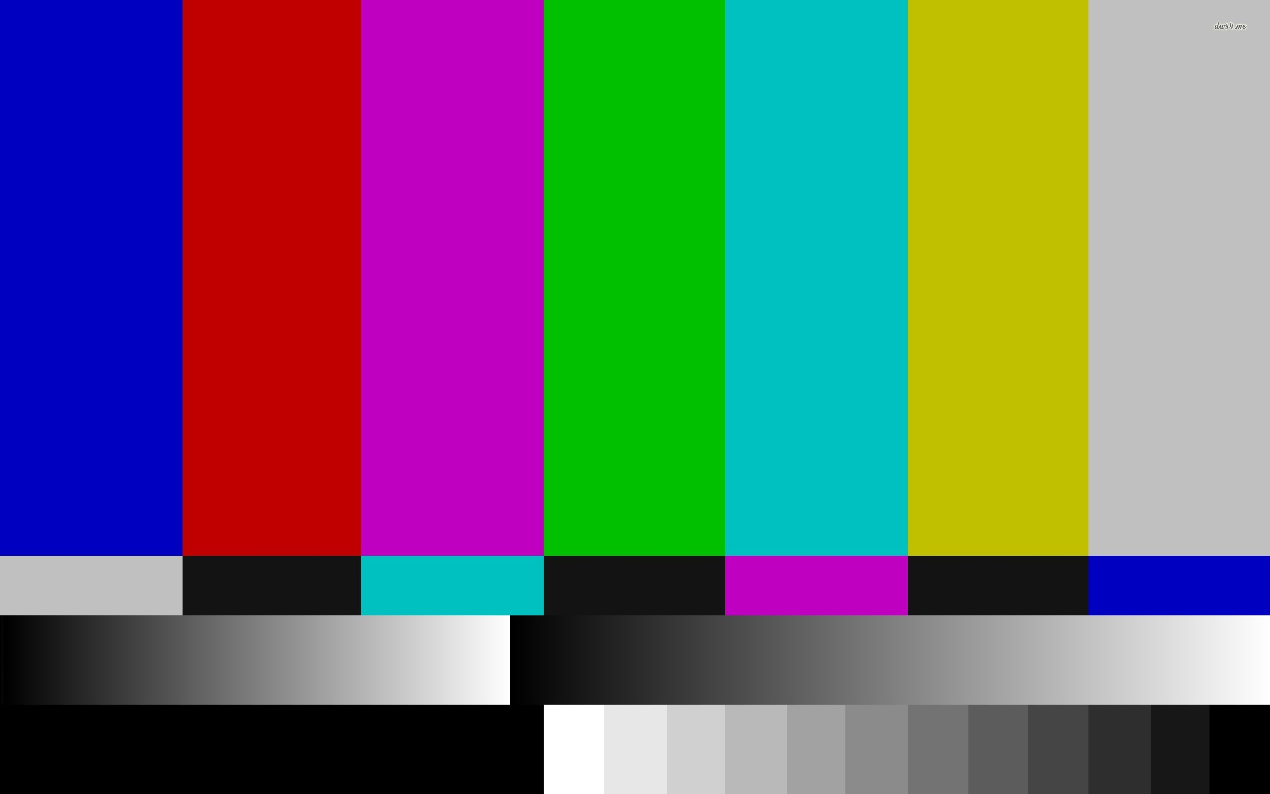 ... TV test pattern wallpaper 2560x1600 ...