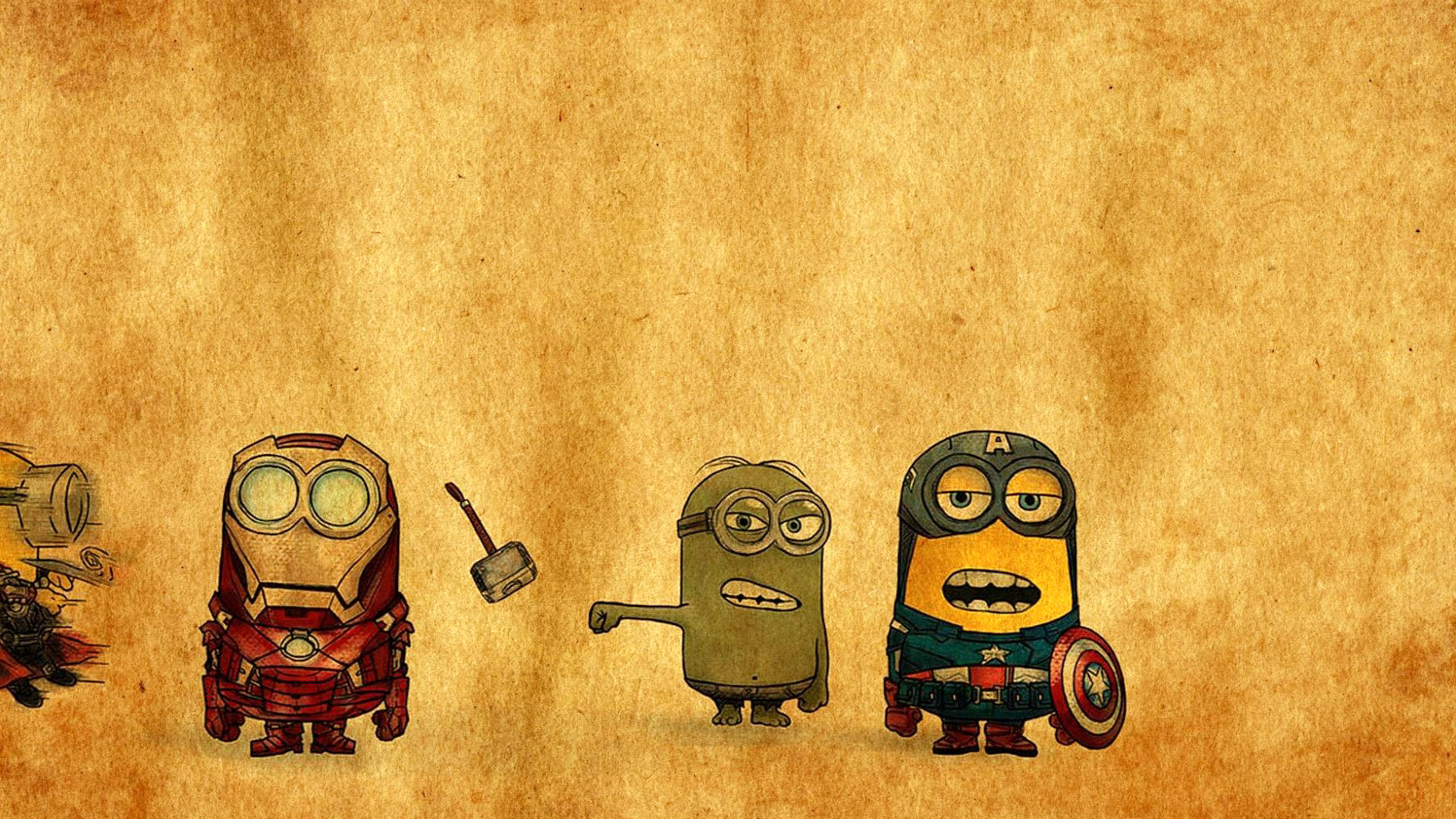 Minions Avengers Wallpaper
