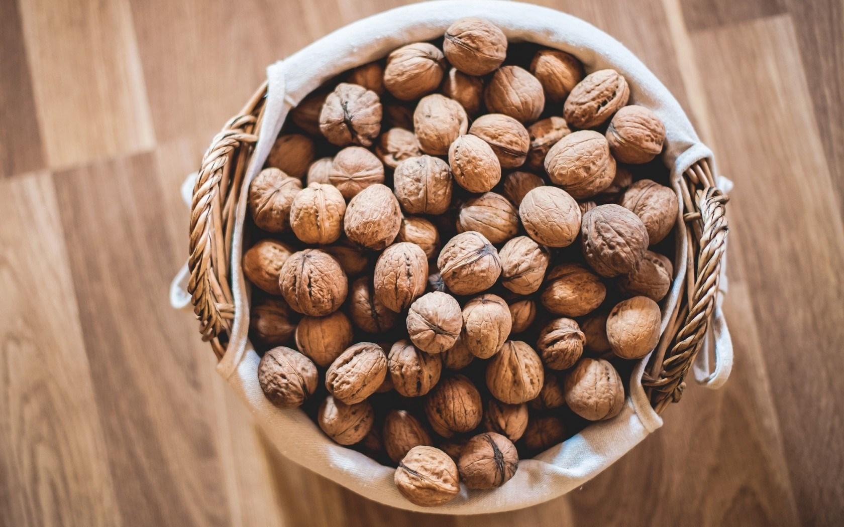 Walnuts Basket