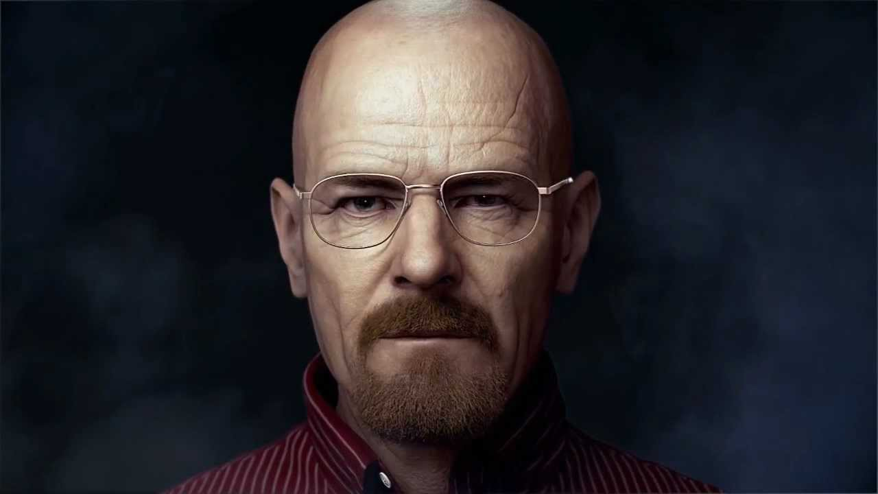 3D Walter White Model Render
