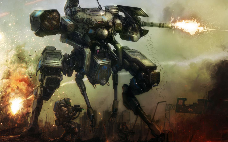 War Robot Wallpaper