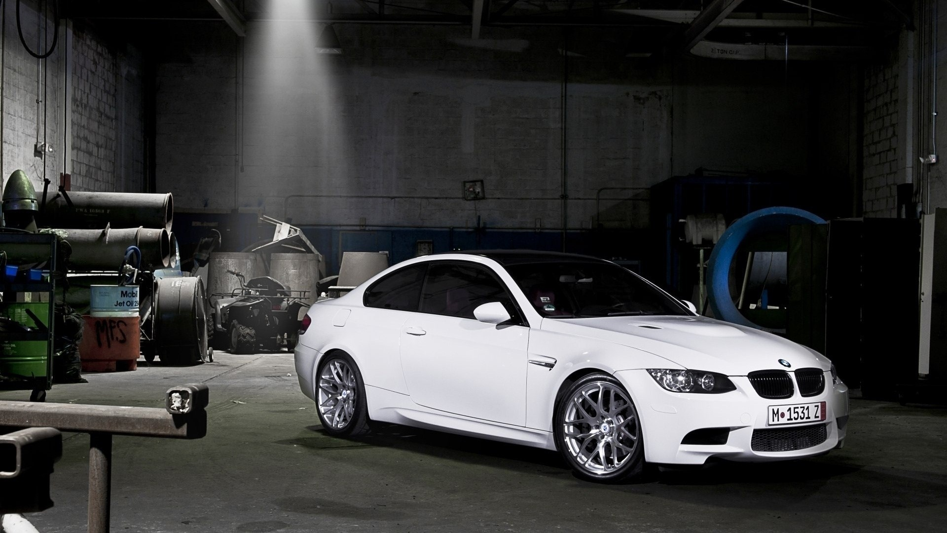 Warehouse BMW M3 White