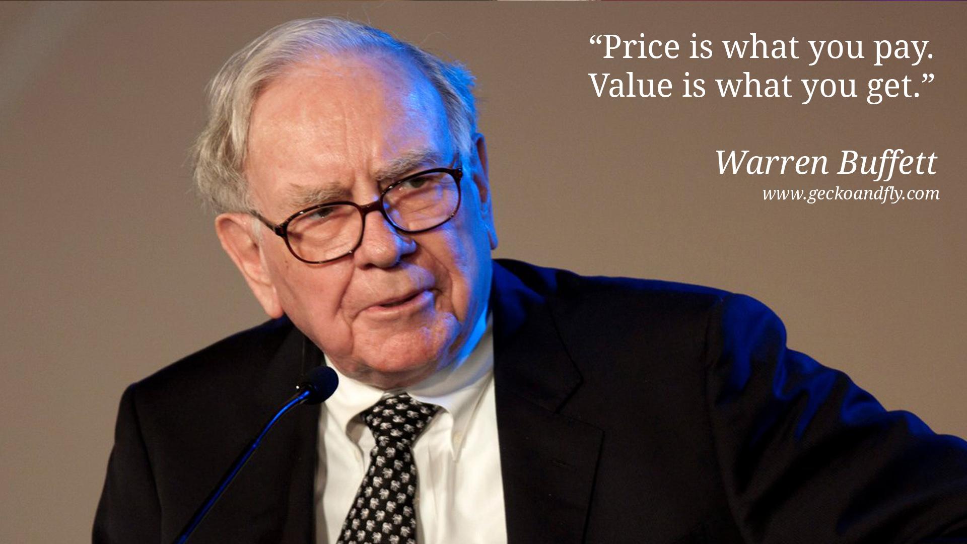 Secrets of Warren Buffet Investing Strategy
