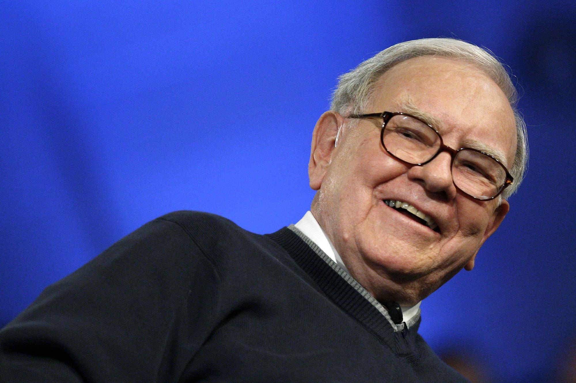 Warren Buffett Photo: Reuters