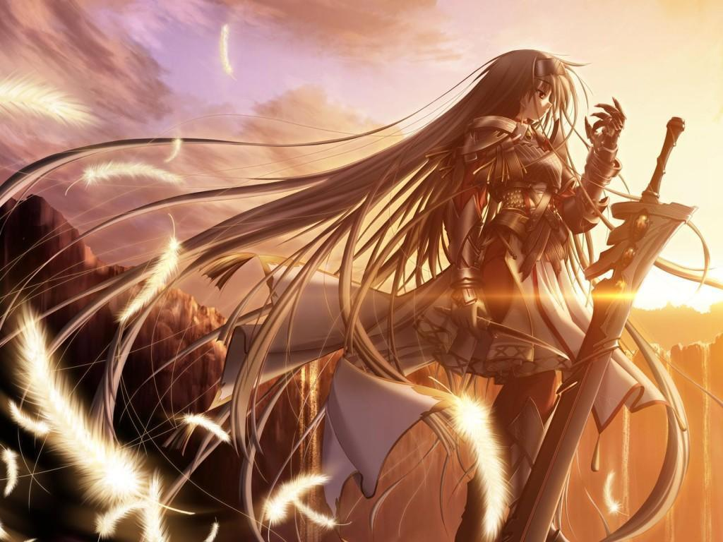 warrior anime wallpaper | 1024x768 | #7442