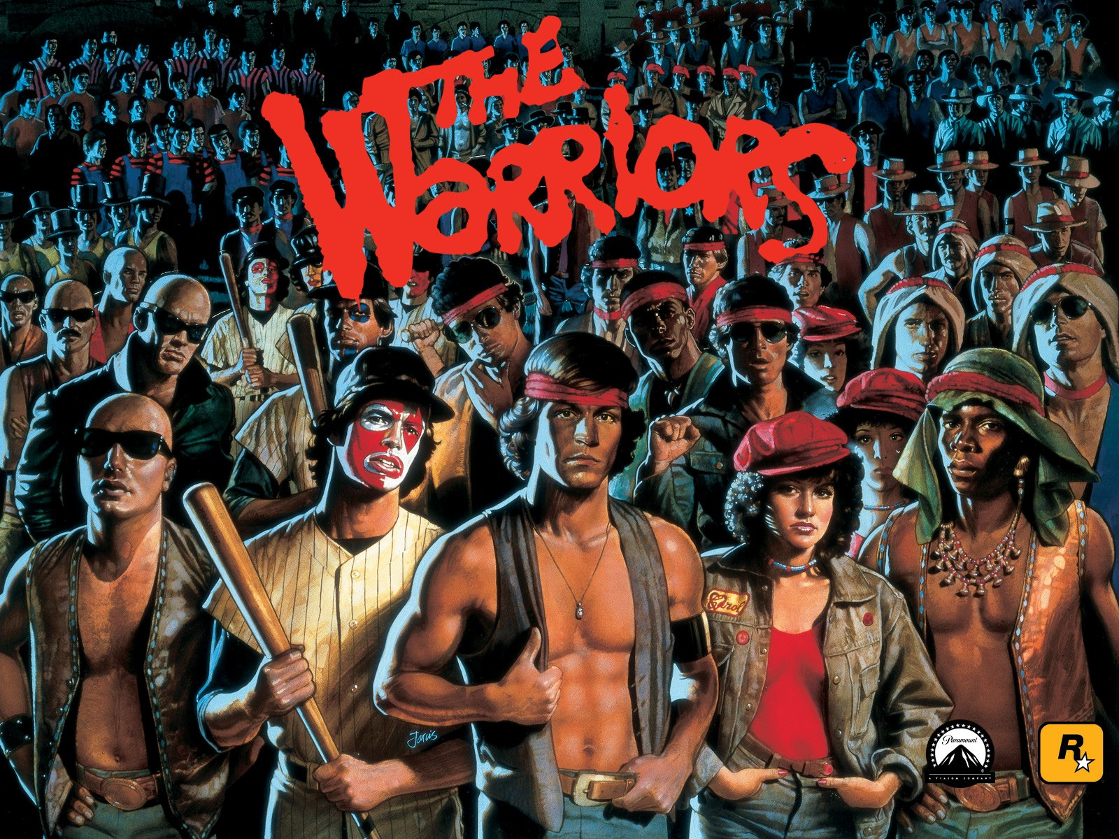 The Warriors, Wallpaper (1600 x 1200, 608k)