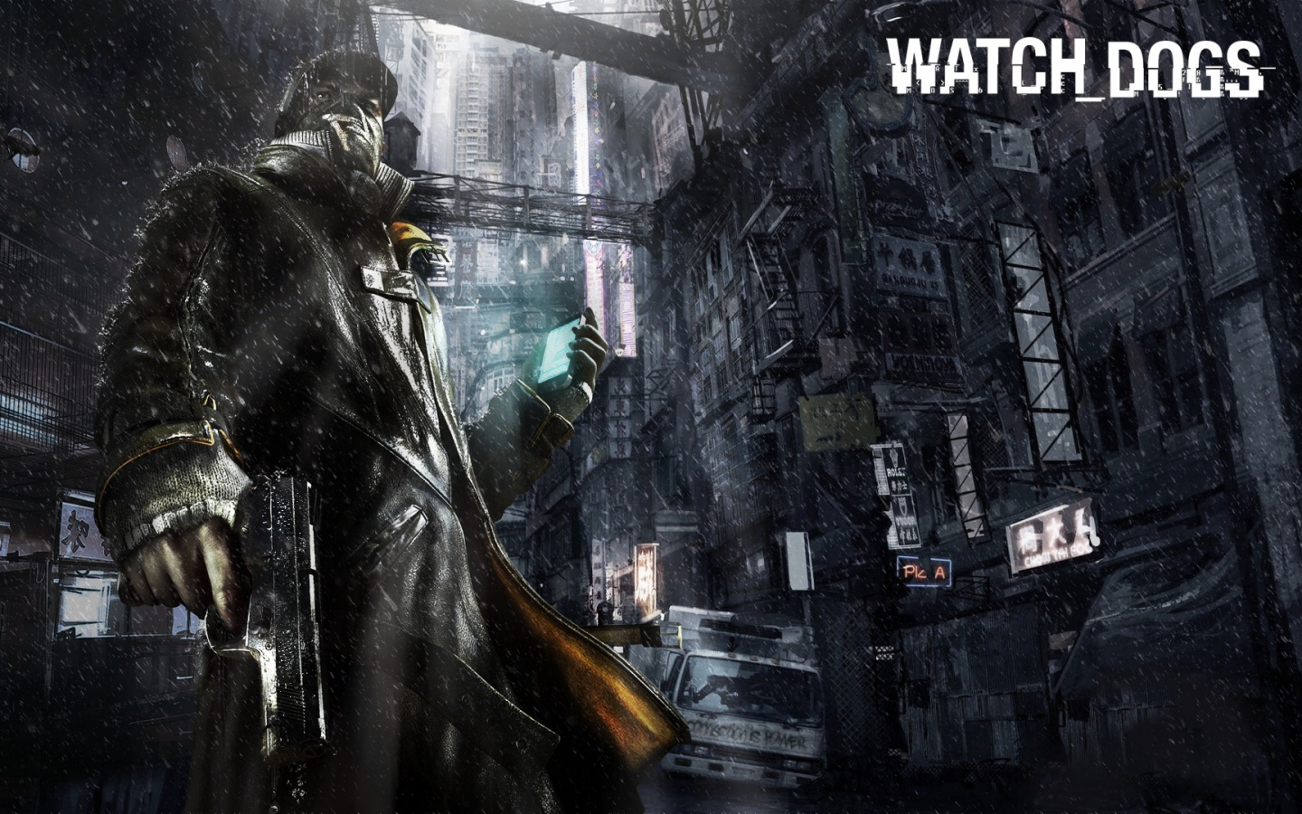 Watch dogs art