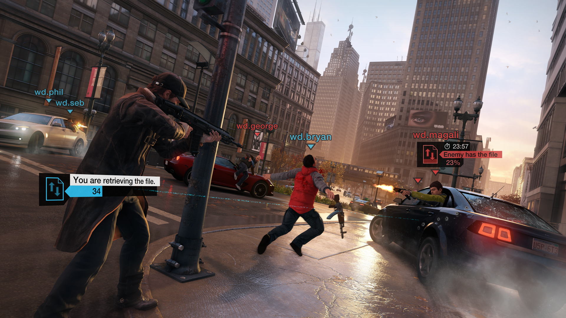 If you thought hacking was a solitary affair involving a chair, a desk, and a computer - think again. In Watch Dogs, you can hack something while unloading ...