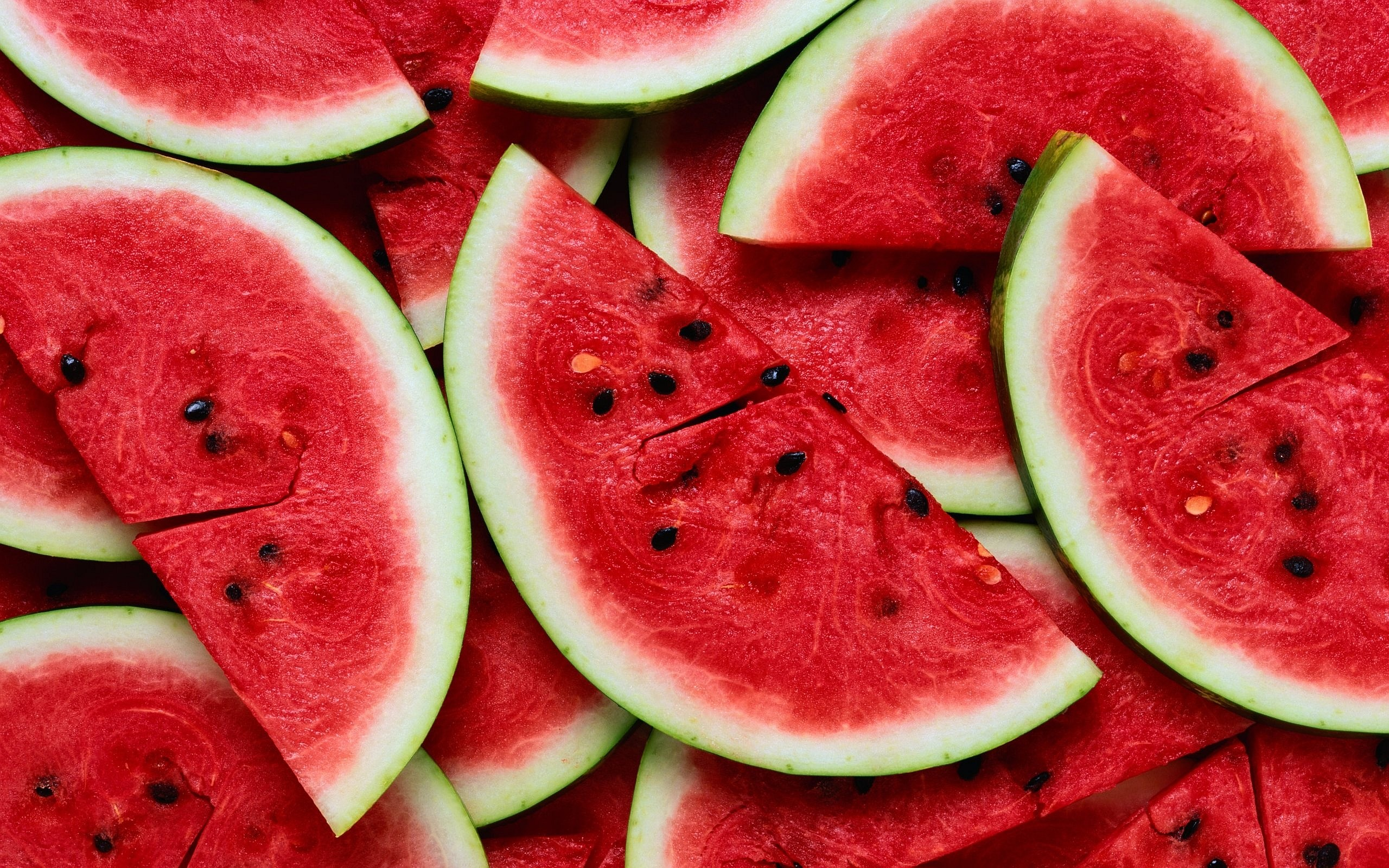 Waterrmelon Slices Background