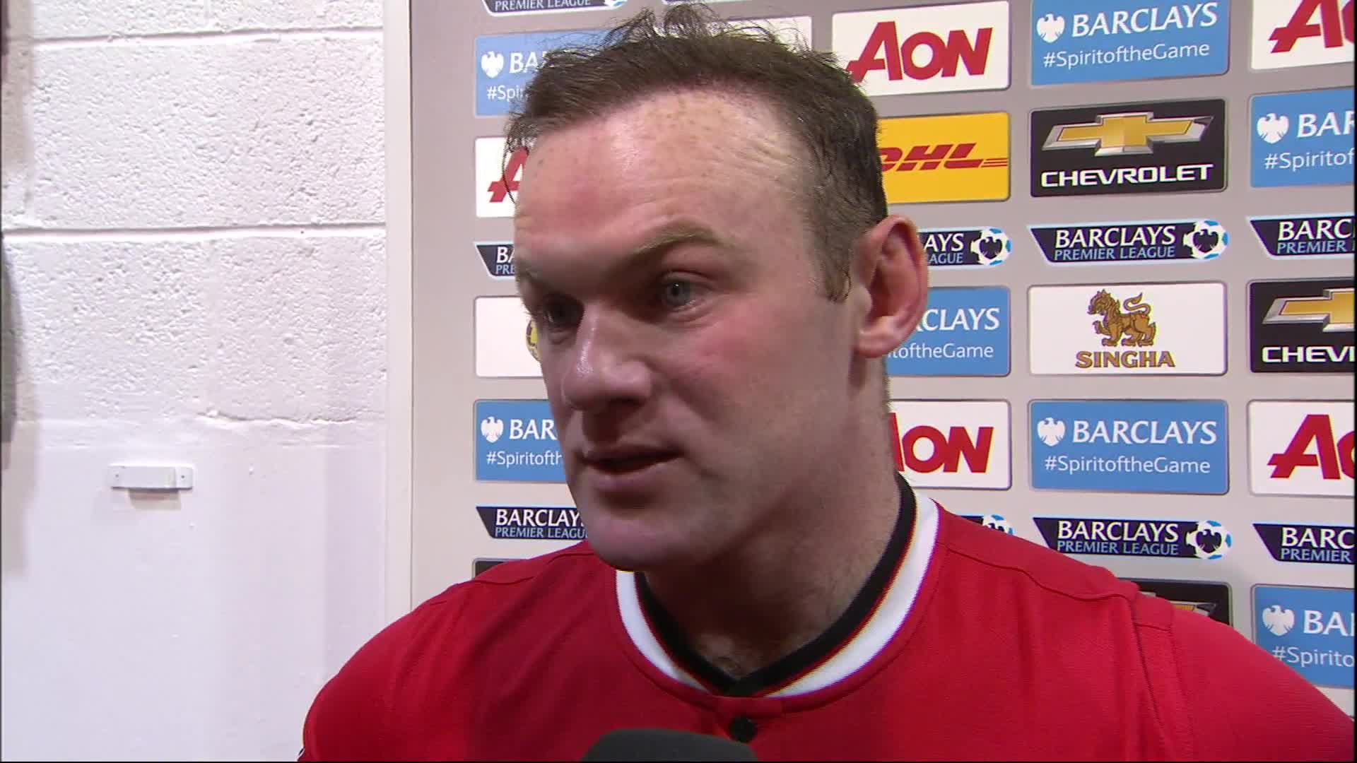Wayne Rooney says it was important United bounced back from defeat at Swansea