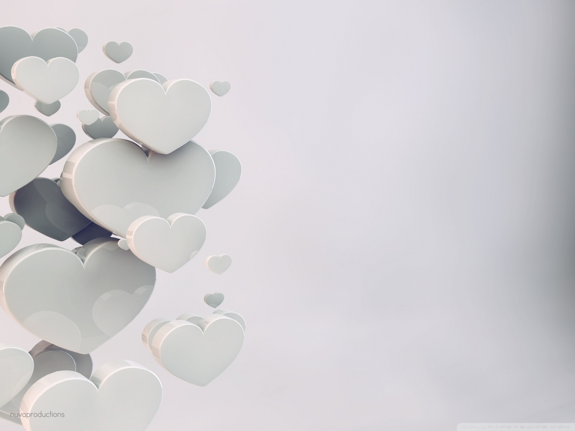 Wedding Hearts HD Wide Wallpaper for Widescreen