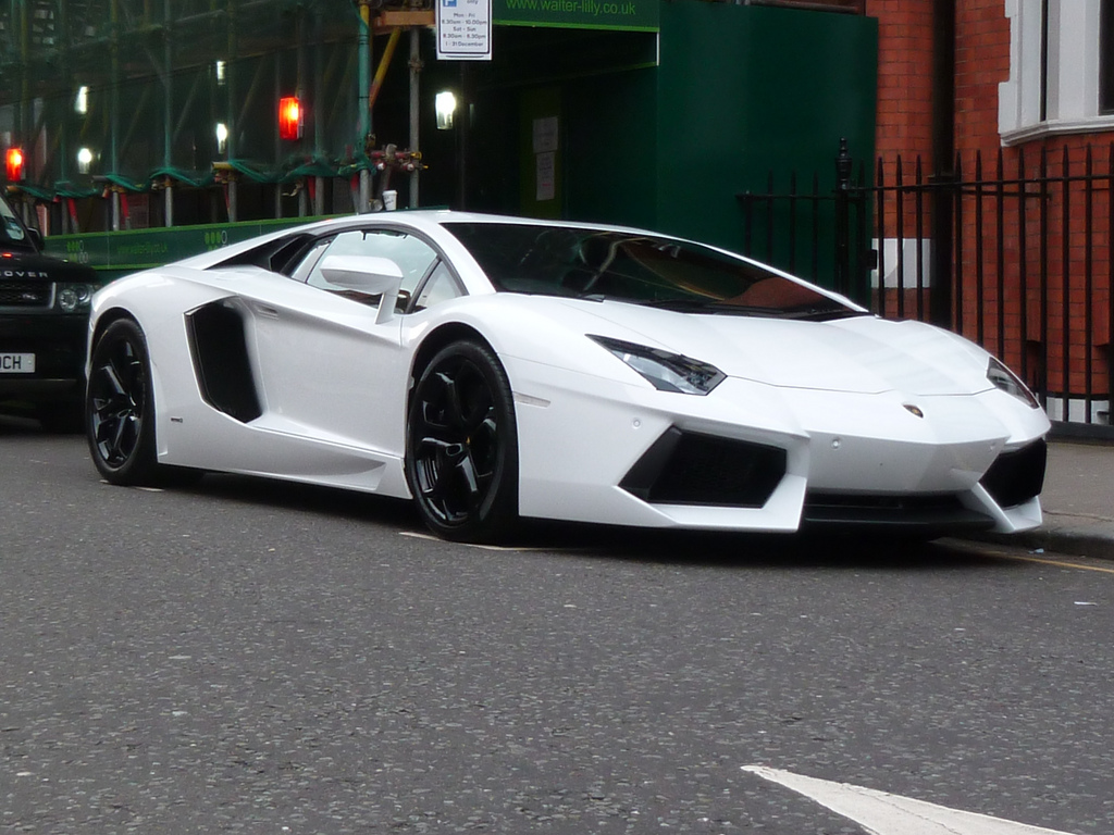 ... Lamborghini Aventador White LP700-4 | by Benoit cars
