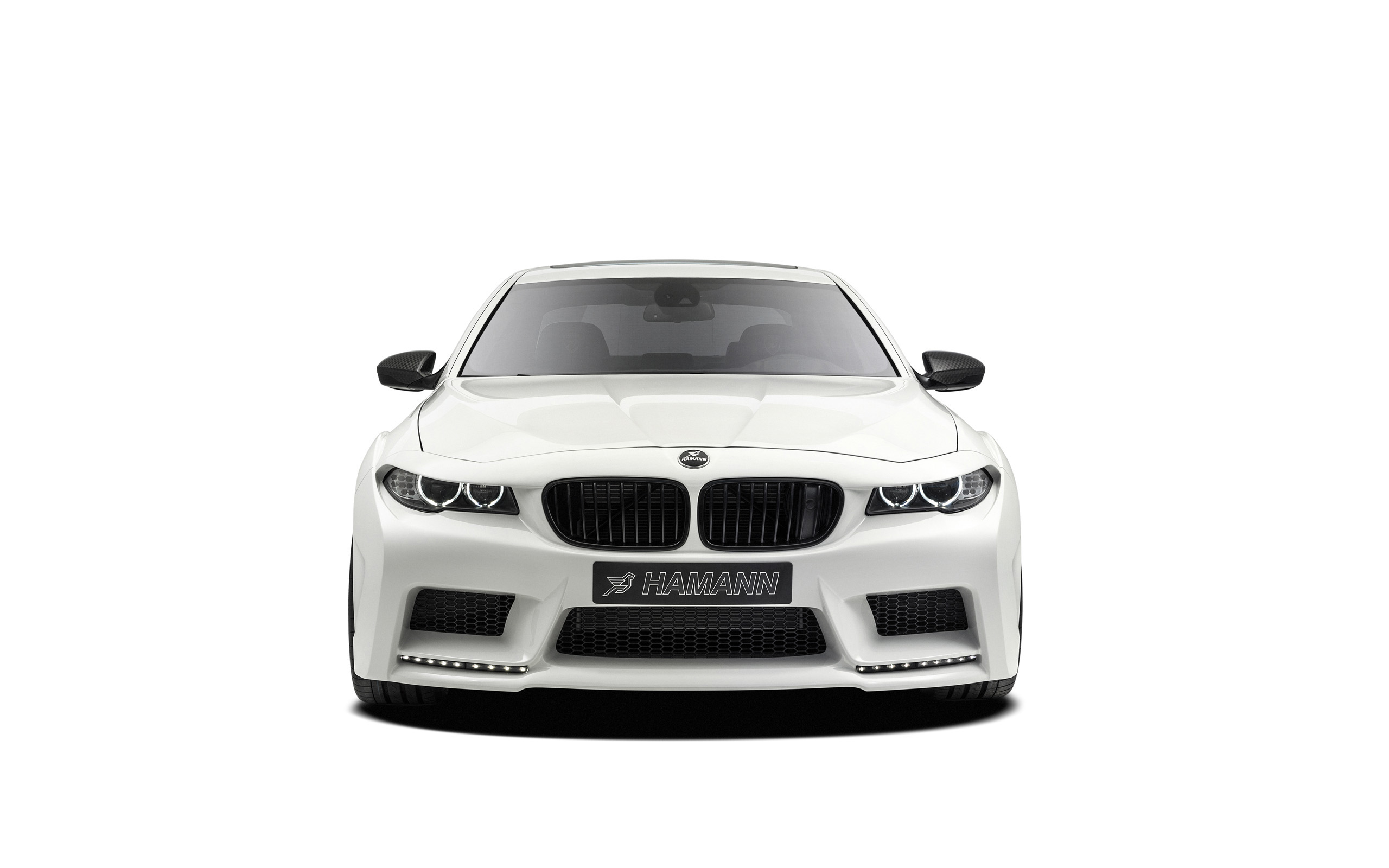 White BMW Background