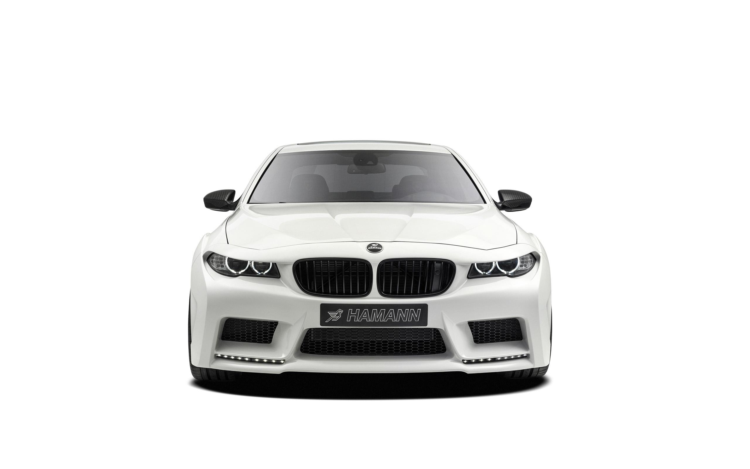 2013 Hamann BMW M5 Mi5Sion - Studio - White Background - 1 - 2560x1600 - Wallpaper