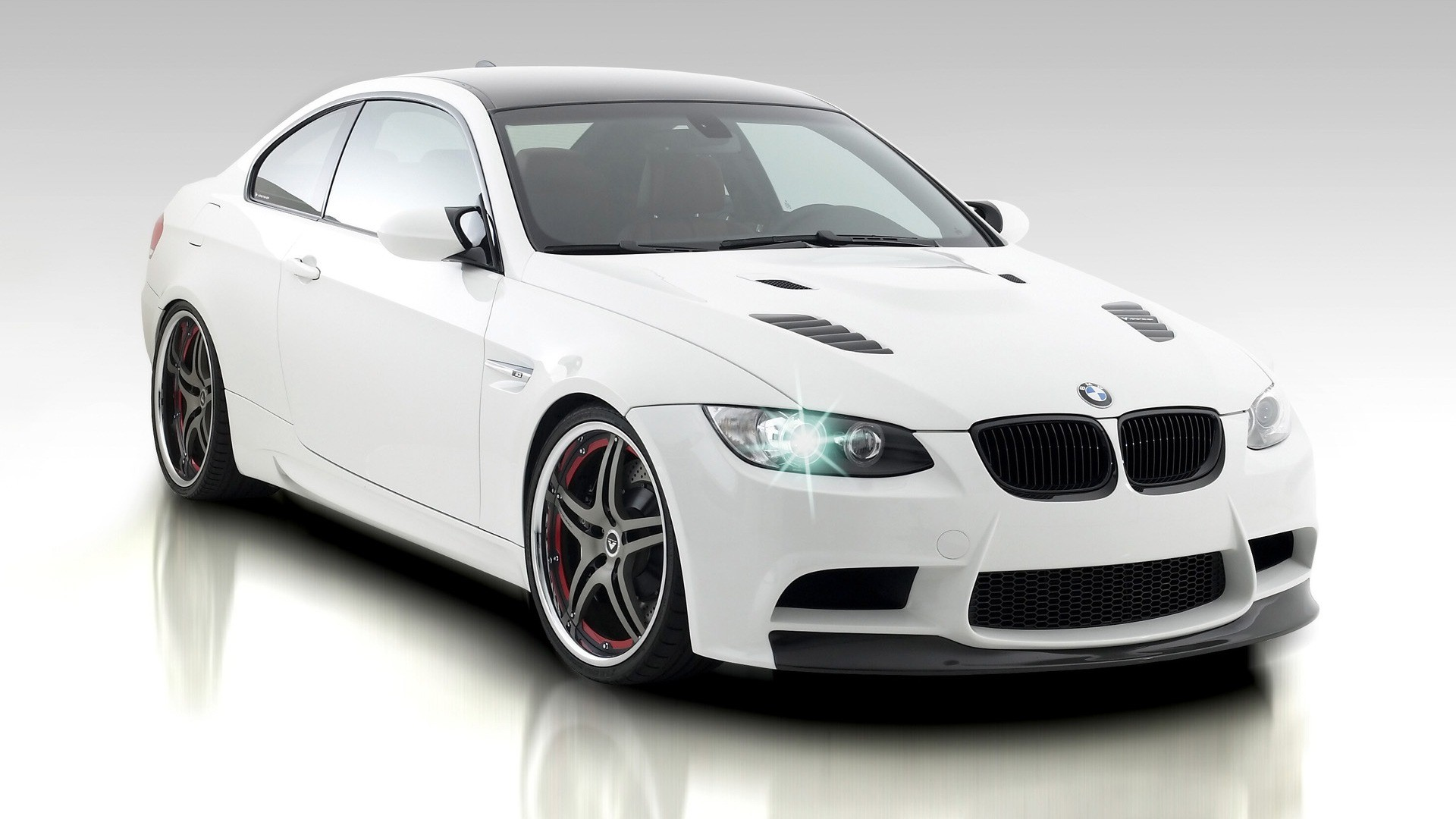White BMW Photo