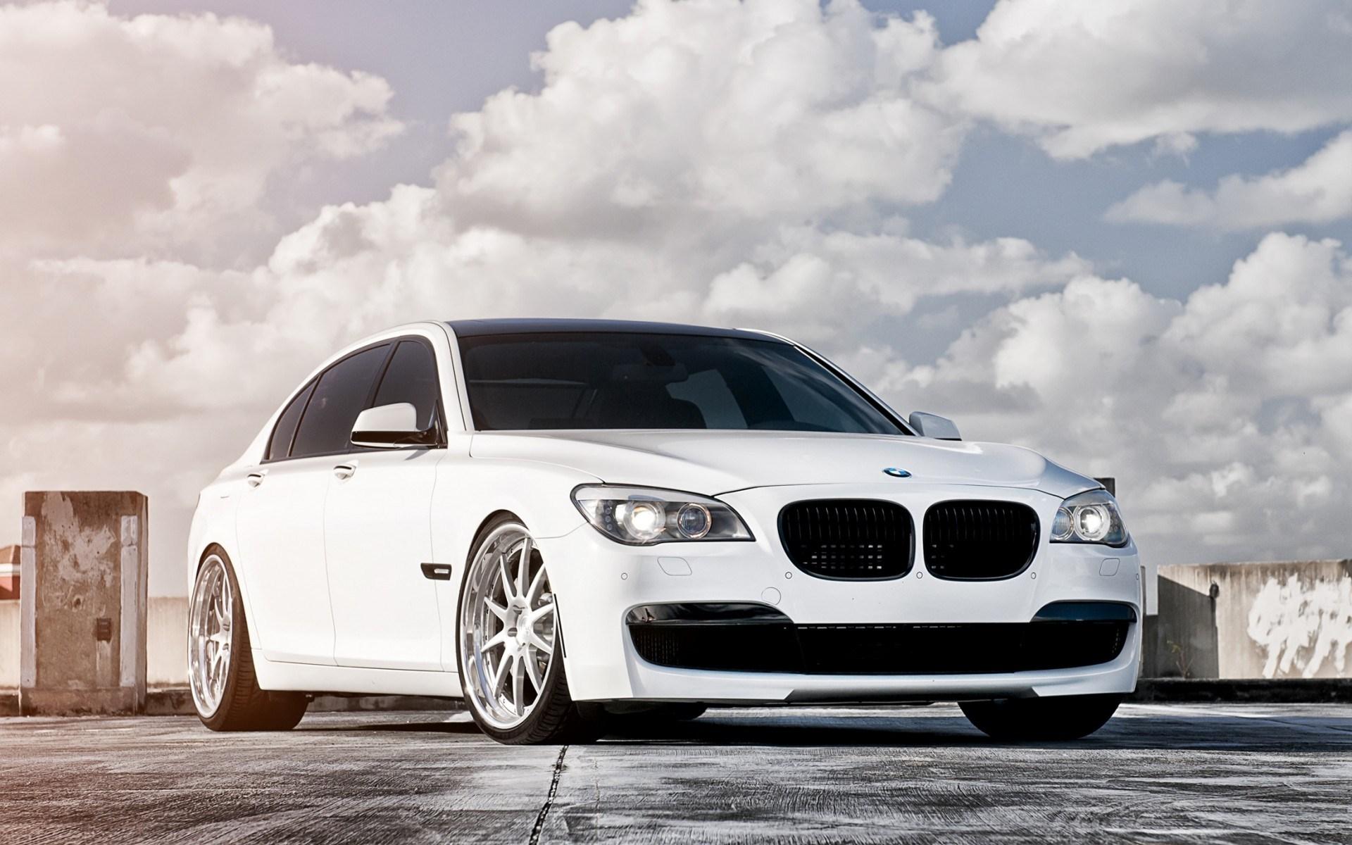 White BMW Wallpaper
