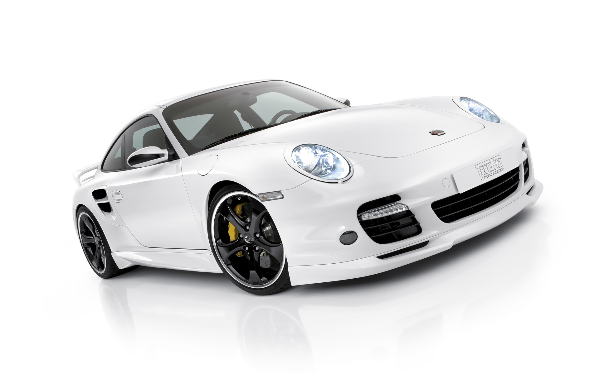 Porsche Techart Design White