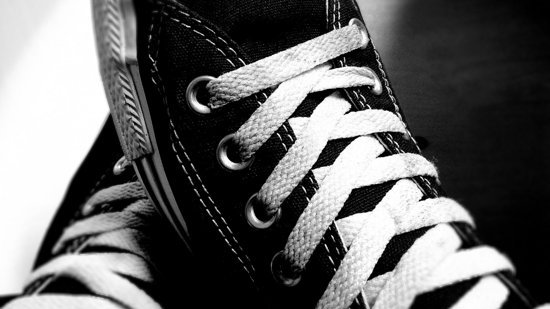 White Converse Wallpaper