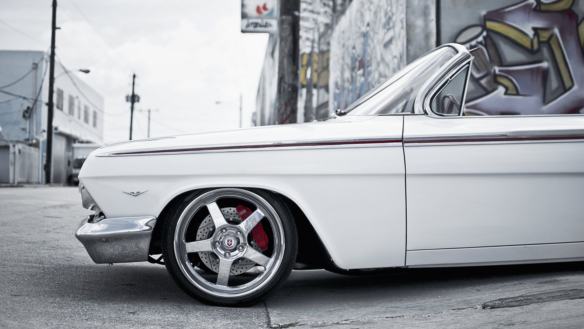White Impala Wallpaper