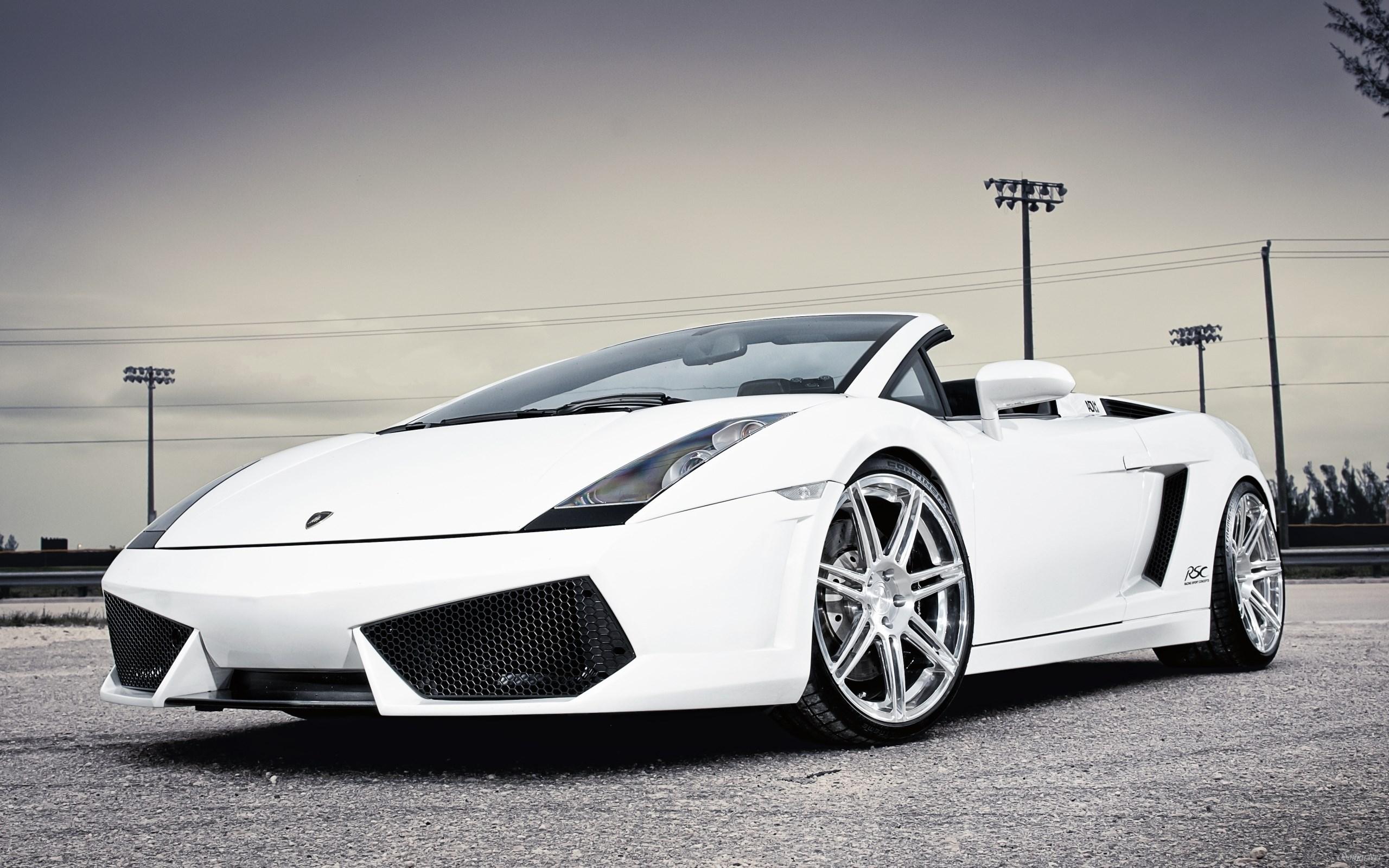 White Lamborghini Pictures
