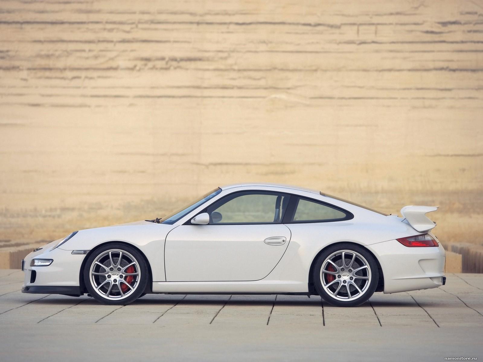 White Porsche 997 GT3 Photo