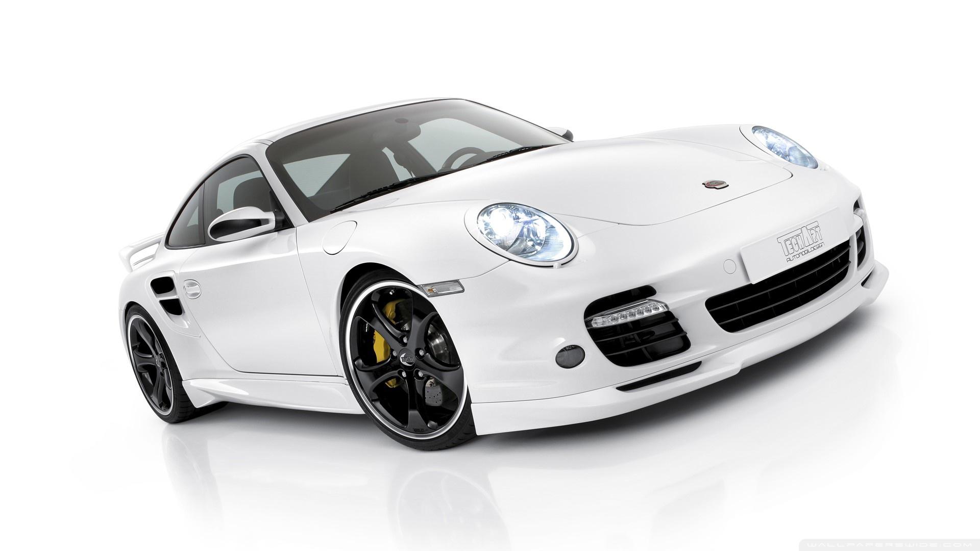 White Porsche Pictures