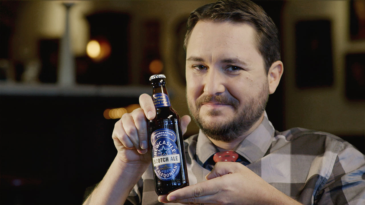 Wil Wheaton, Giant Beer Geek, Humorously Introduces Newcastle's Scotch Ale | Adweek
