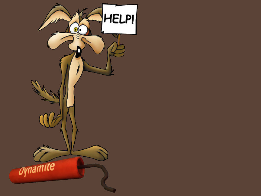 Wile E Coyote Cartoon