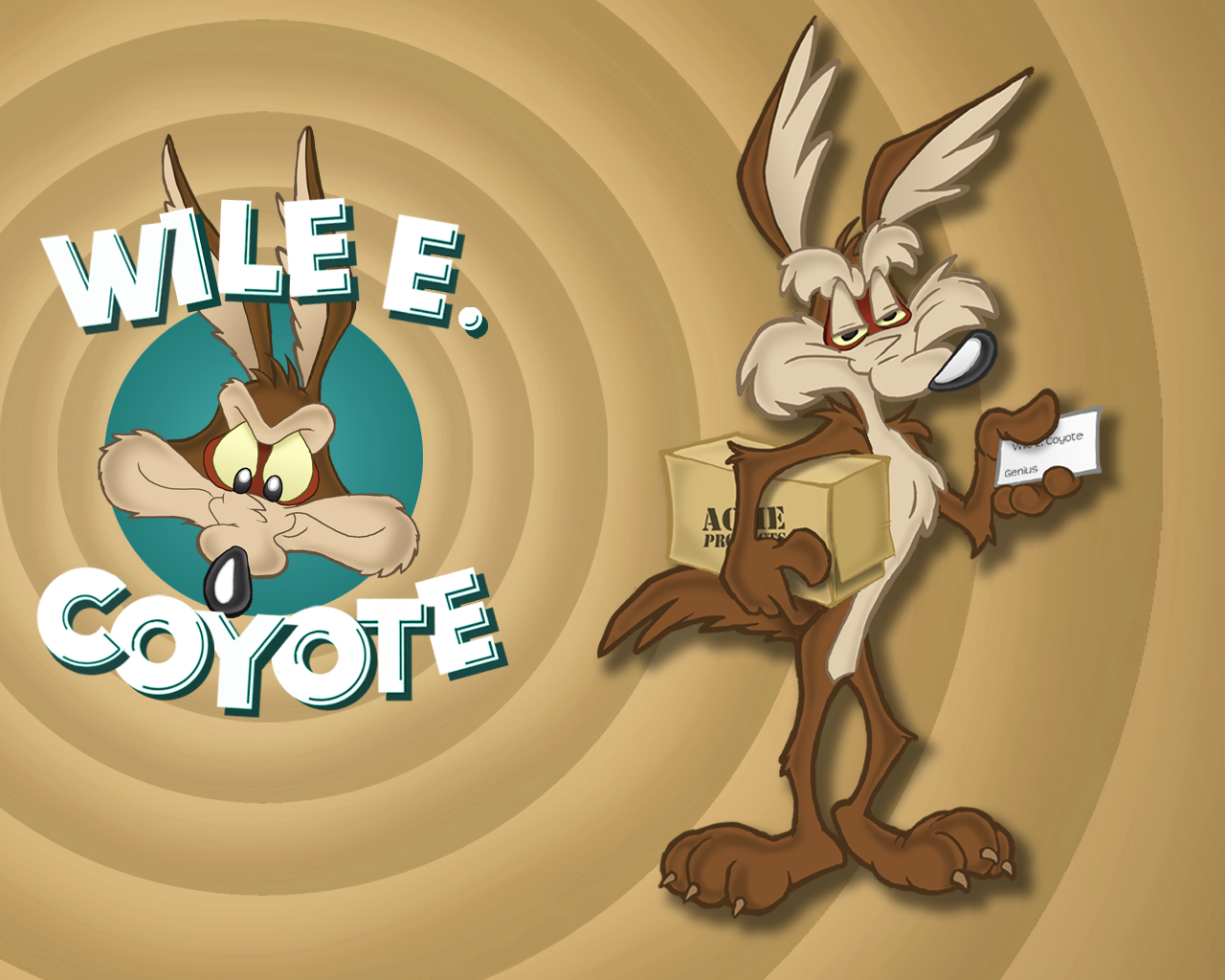 Wile E Coyote Wallpaper