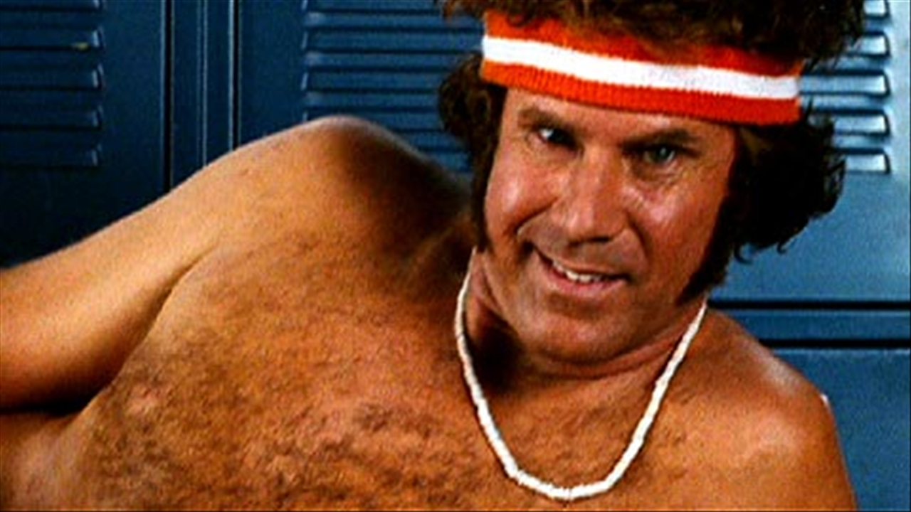 ... with Will Ferrell (2:48) The comedic actor shows his sportier side.
