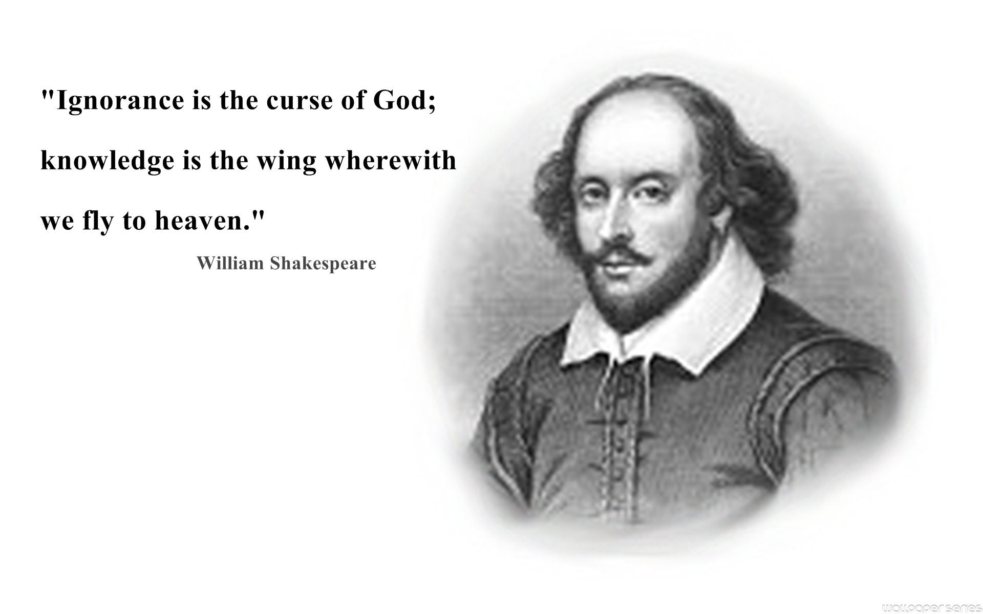 ... william-shakespeare-knowledge-quote-wallpapers