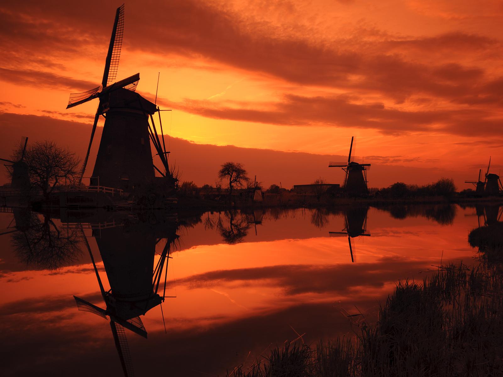 Windmill Wallpaper; Windmill Wallpaper ...