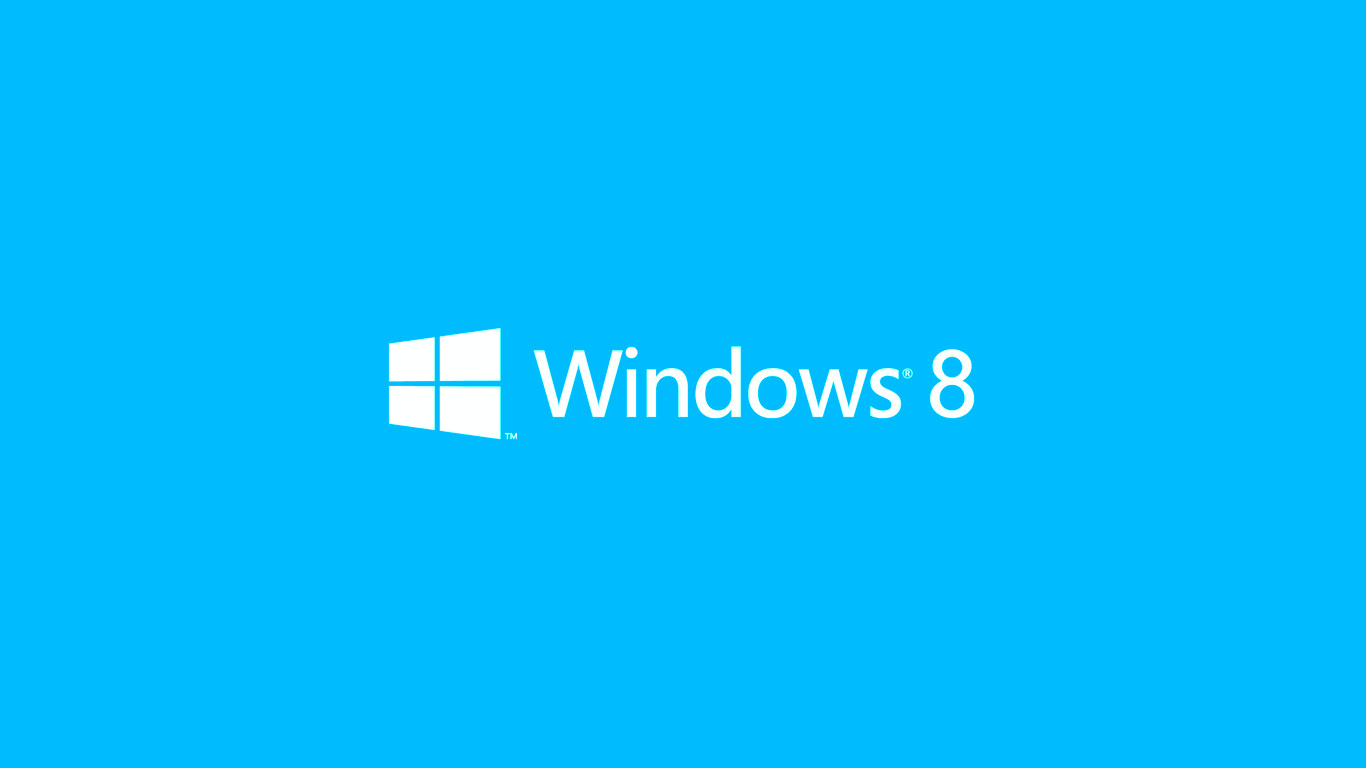 Windows 8 light blue